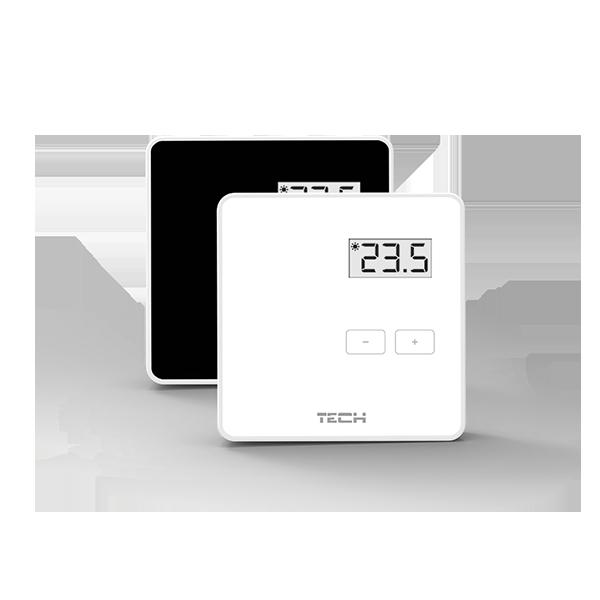TECH R-8 b Безжичен Термостат LCD
